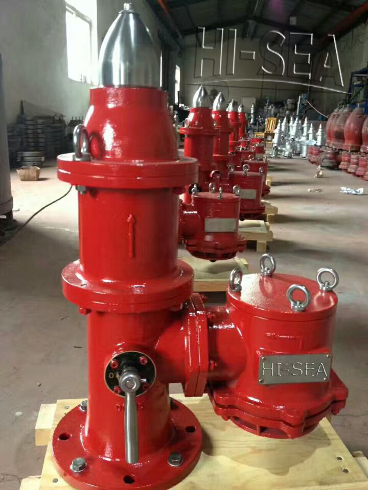 Marine Cast Steel High Velocity Relief Valve in factory