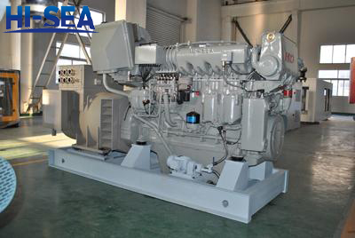 500kw marine generating set in factory