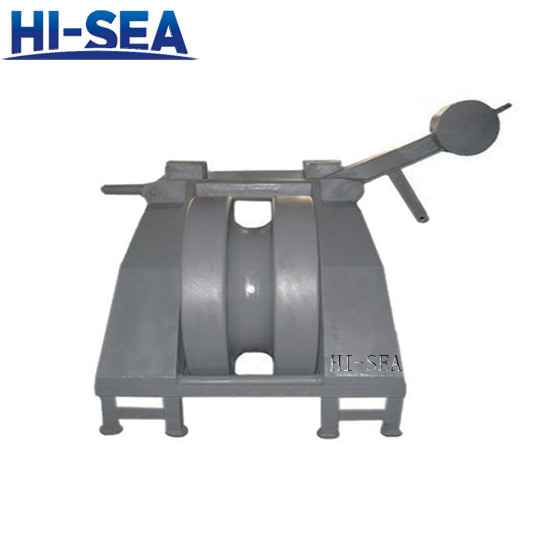 JIS F2032 Cast Steel Chain Stopper