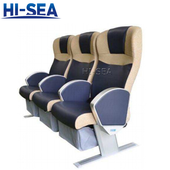 Marine Passenger Chair with Lifejacket Bag
