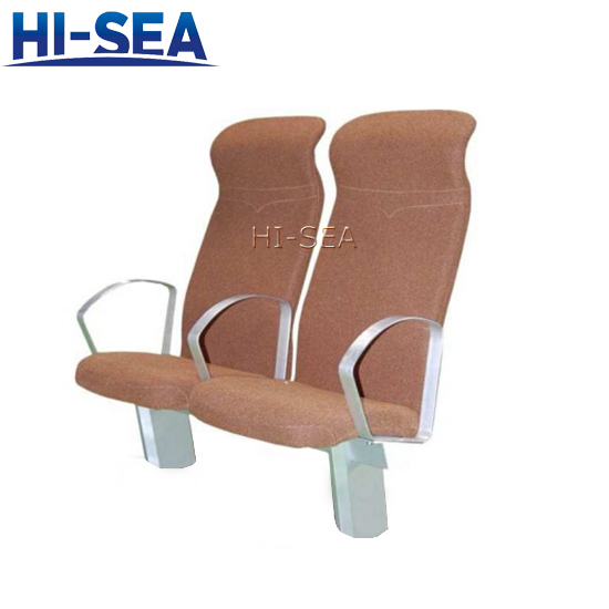 Marine Passenger Chair with Adjustable Backrest