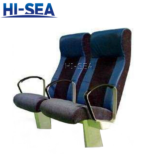 Marine Passenger Seats with Reclining Backrest