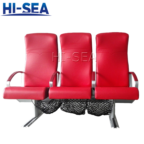 Passenger Seat with Armrest Cover for Ferries