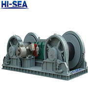 Electric Dual Drum Mooring Winch