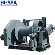 100kN Hydraulic Towing Winch