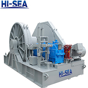 300kN Electric Single Drum Mooring Winch