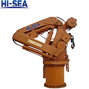 Marine Telescopic Knuckle Boom Crane