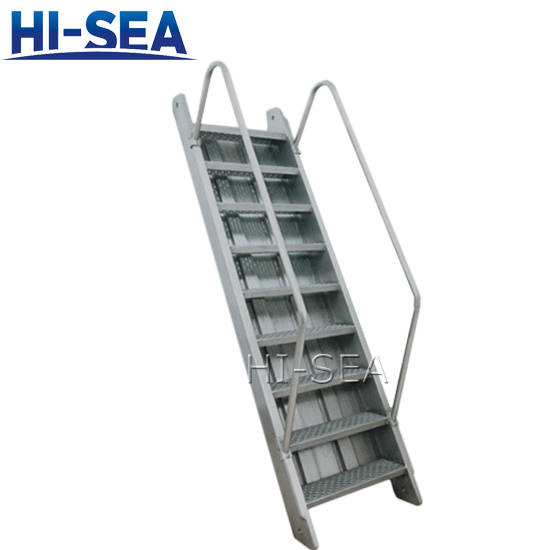 Vessel Cargo Hold Inclined Ladder