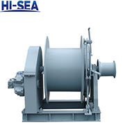 100kN Hydraulic Single Drum Winch