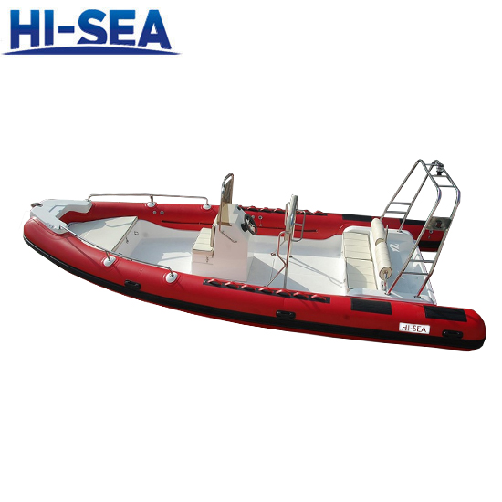 17 Persons HYPALON Fabric Rigid Inflatable Boat