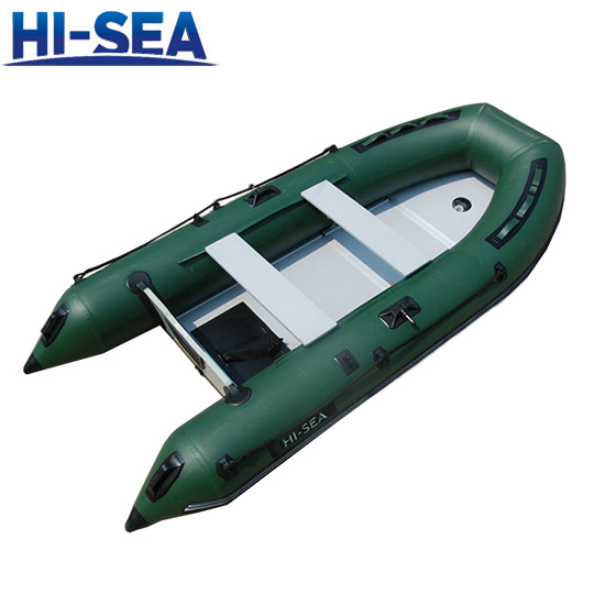 PVC Inflatable Boat With Aluminum Floor