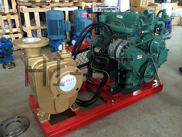 The Picture of CWY Series Marine Diesel Emergency Fire Pump2