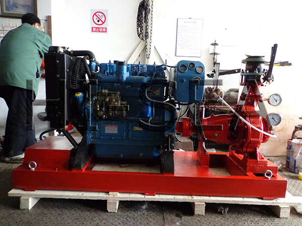 The Picture of CWY Series Marine Diesel Emergency Fire Pump3