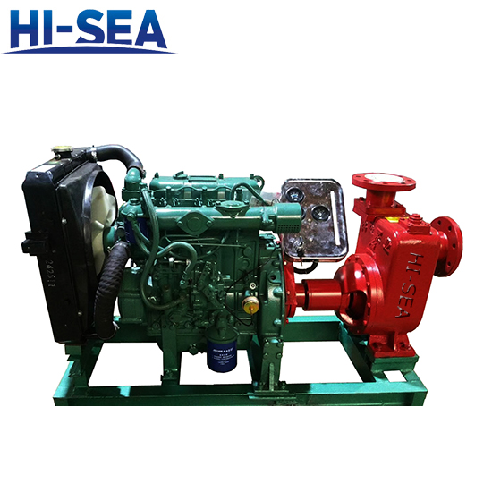 CWY Series Marine Diesel Emergency Fire Pump