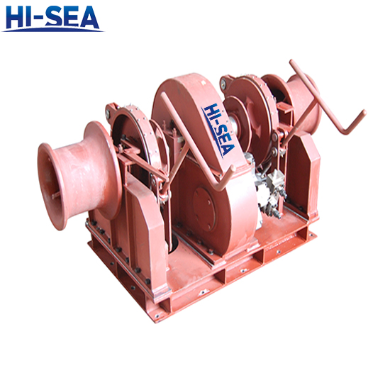 Double Warping Head Windlass