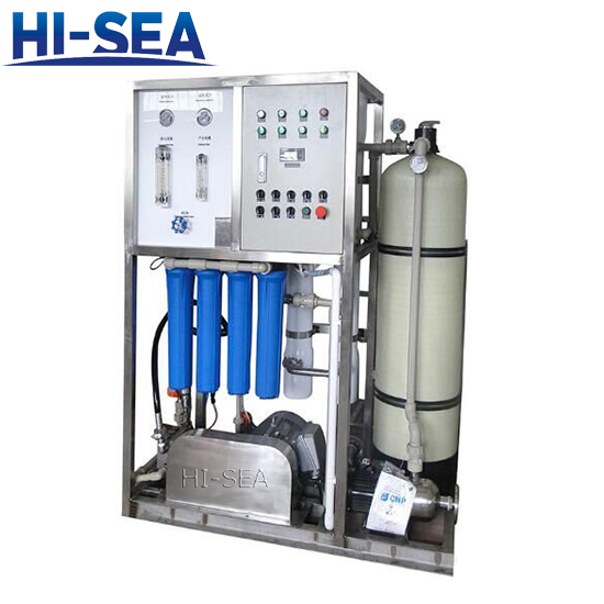 Sea Water Distiling Plant