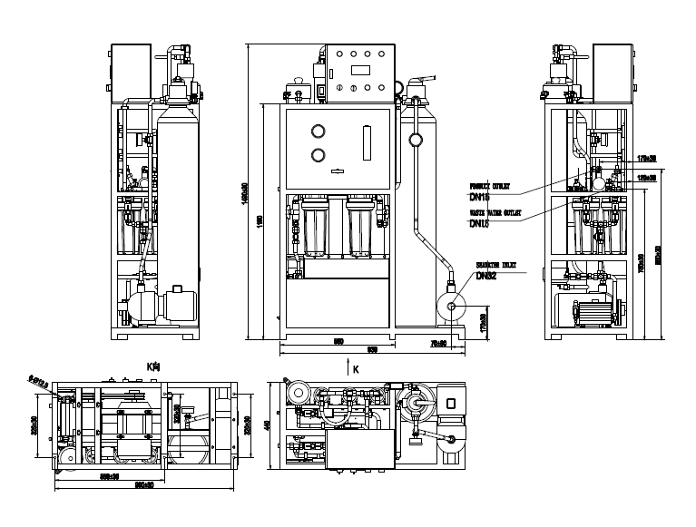 Desalination Facility - Seawater Desalination Plant - Hi-sea