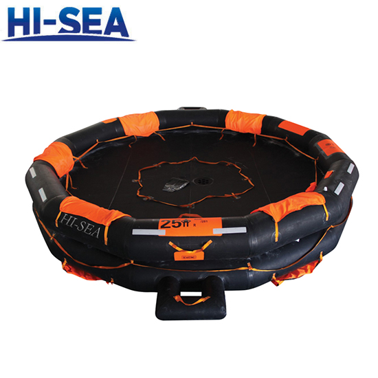 Open Reversible Inflatable Liferaft