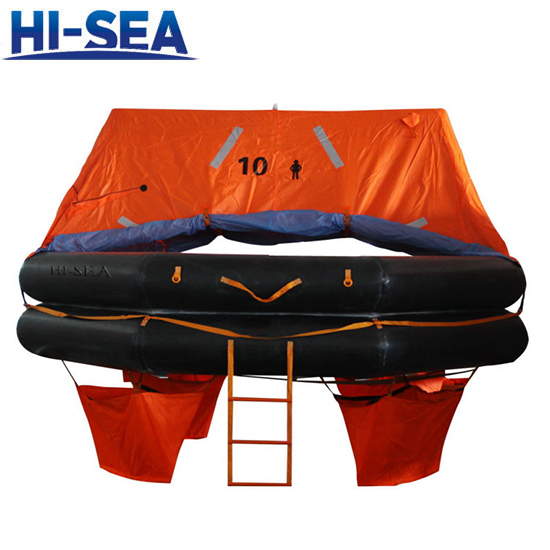 Throw Over Board Inflatable Liferaft