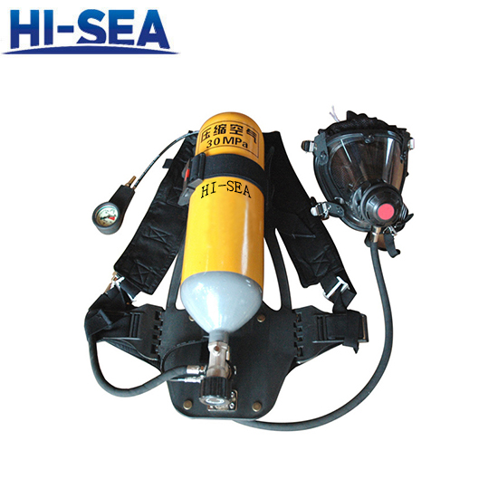 SCBA with Alloy Steel Cylinder