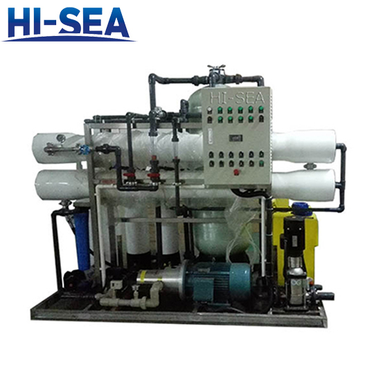 Sea Water Desalinating Unit