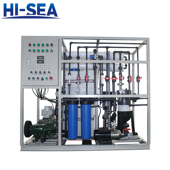 Seawater to Drinking Water Maker