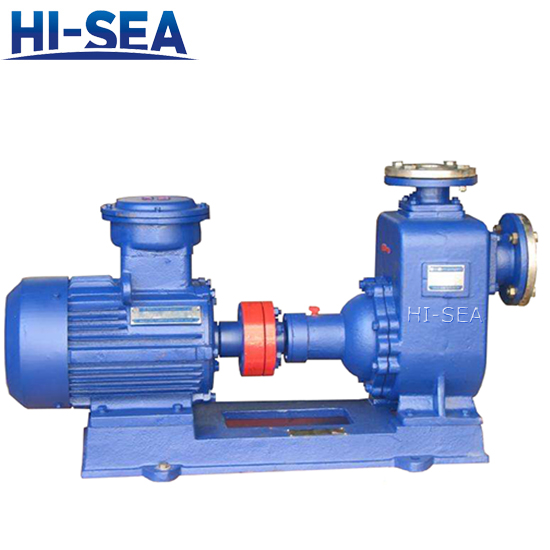 CWZ Series Marine Horizontal Self-priming Centrifugal Pump