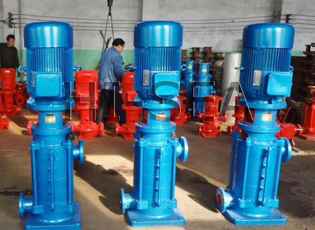 The Picture of DL、DLR Series Vertical Multistage Centrifugal Pump