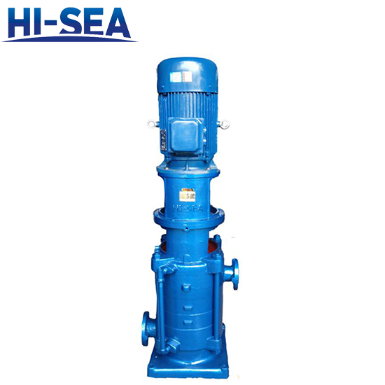 DL、DLR Series Vertical Multistage Centrifugal Pump