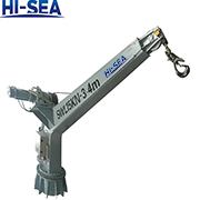 Marine Fixed Boom Crane