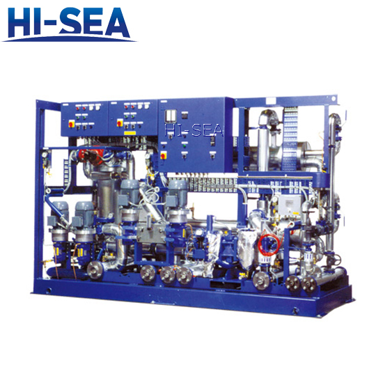 High Performance Fuel oil supply Modular Unit