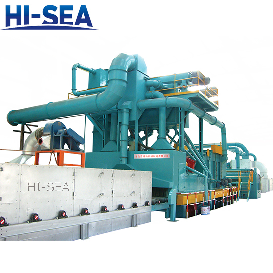 Steel Plate Pretreatment System