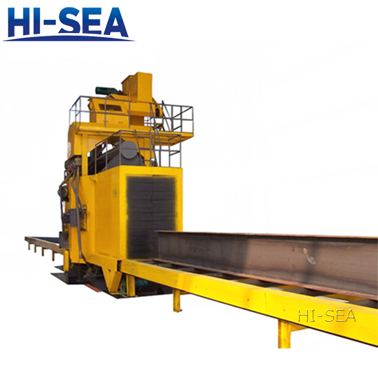 H Shaped Shot Peening Equipment