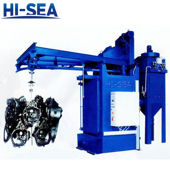 Hook Type Airless Shot Blasting Machine