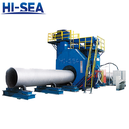 Steel Tube Shot Blasting System