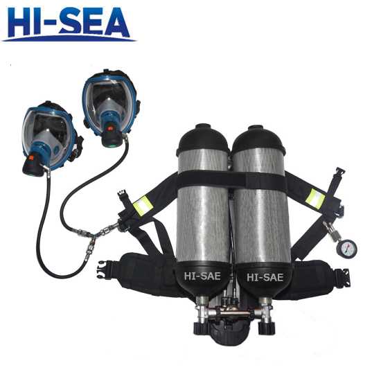 SCBA with Double Cylinders for 2 Users
