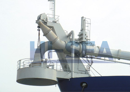 dredge bow coupling