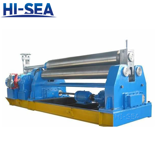 3-Roller Symmetrical Plate Rolling Machine