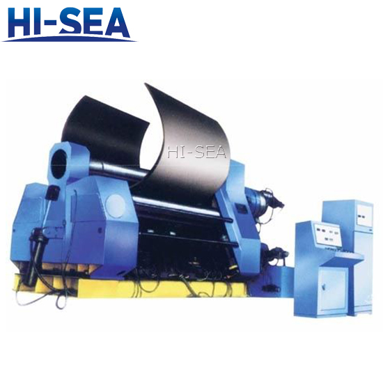 Four Rolls Hydraulic Plate Bending Machine