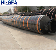 DN550 Dredge Self Floating Rubber Hose