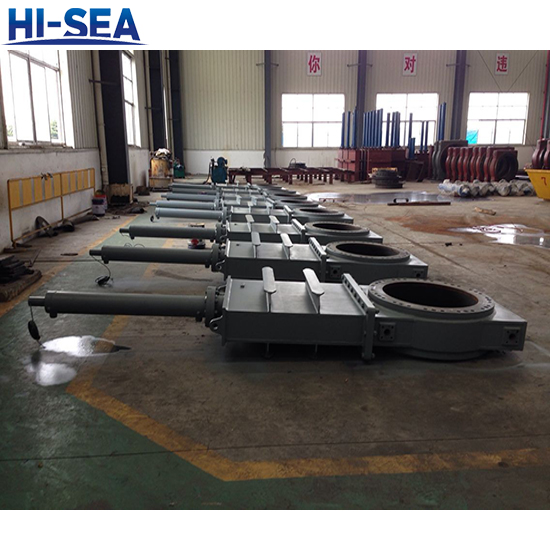 DN700 Dredge Gate Valve