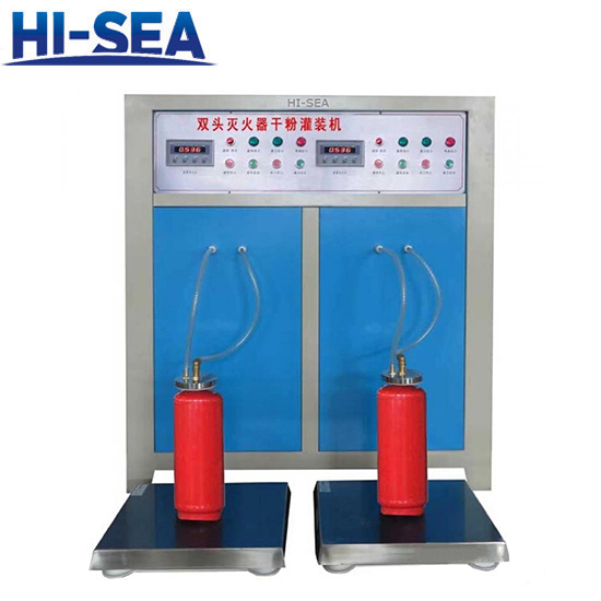 Double- station Dry Powder Filling Machine