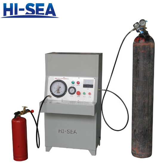 Fire Extinguisher Nitrogen Filling Machine