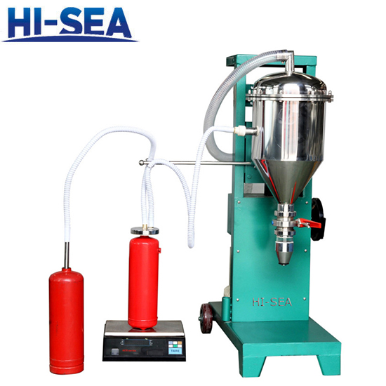 Fire Extinguisher Powder Filler With Stainless Steel Bucket