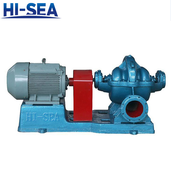TSH Series Split Horizontal Single Stage Double Suction Pump
