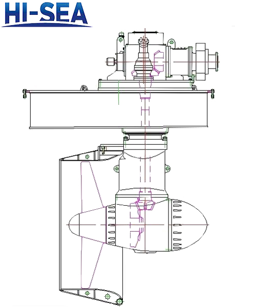 Z-Drive Azimuth Thruster