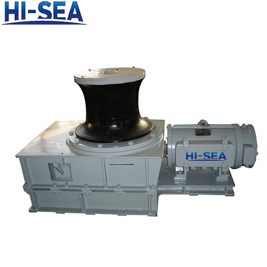 Marine Electric Capstan