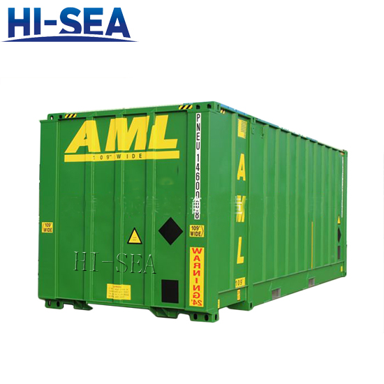 24 Foot Ultra High Wide Container