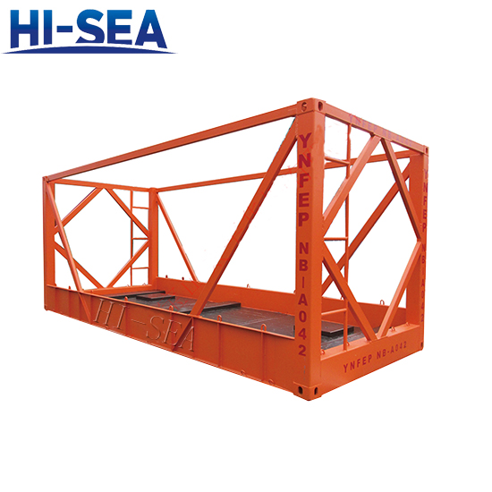 20 Foot Frame Container for Transport