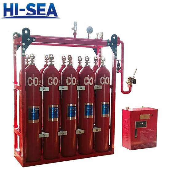 Marine Carbon Dioxide Fire Fighting System